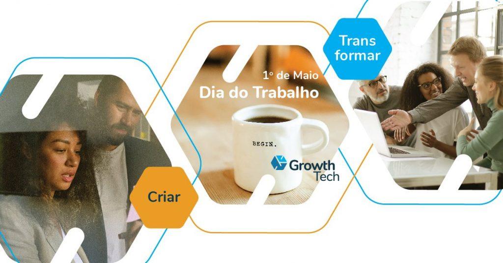 Transformação digital: criar, trabalhar, transformar.